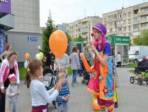 День защиты детей в Кольцово.