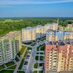 В Кольцово построили самый высокий дом