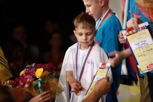 Михаил Поротников на церемонии награждения в Москве.