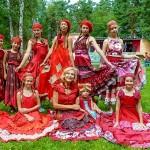Кольцовская студия моды выступила на фестивале лоскутных одеял