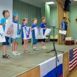 Прошло финальное шоу мини-американской школы в Кольцово