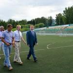 Кольцово посетил с деловым визитом вице-губернатор Новосибирской области