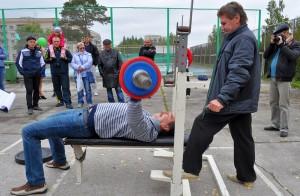 Министр культуры НСО Василий Кузин на турнире в Кольцово.