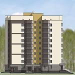 В третьем микрорайоне Кольцово начали строить две девятиэтажки