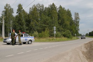Начало объездной автодороги №7.