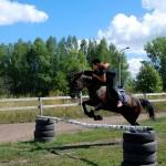 В конном клубе парка Кольцово заниматься можно всей семьей