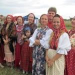 Фольклорный коллектив из Кольцово побывал на межрегиональном фестивале