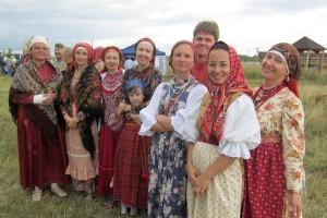 """Фольклорная студия """"Сею-вею"""" на фестивале """"Малая моя родина""""."""