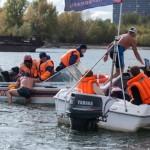 Айсмен из Кольцово принял участие в холодовом заплыве по Оби