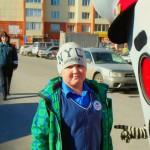 Юные инспекторы движения из Кольцово позаботились о пожилых пешеходах