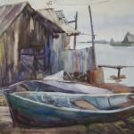 «Соловецкий цикл» кольцовской художницы вновь выставляется