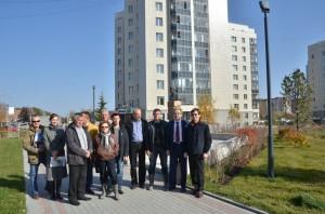 Инициативная группа по созданию парка в третьем микрорайоне.