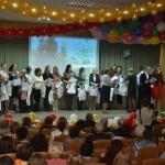 Первая кольцовская школа празднует 35-летие