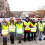 В Кольцово школьники поддержали акцию Госавтоинспекции «Наравне со всеми»