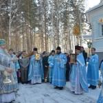 В кольцовском храме прошло богослужение в честь престольного праздника
