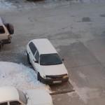 В Кольцово оштрафовали восьмерых нарушителей правил парковки