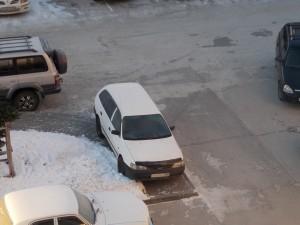 Владельцу этого автомобиля придется заплатить штраф.
