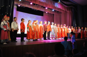 Средняя группа воскресной школы.