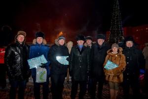 После вручения премии им. Л.С. Сандахчиева, 17 января 2016 г.