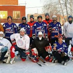 Хоккейная команда «Ветеранов» Кольцово не позволила «Молодежи» взять реванш