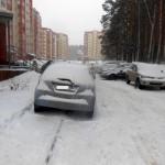 Кольцовцев продолжают штрафовать за нарушение правил парковки