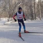 Кольцовец Никита Писарев победил в региональных лыжных гонках