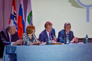 Президиум Собрания трудовых коллективов Кольцово 2016 года.