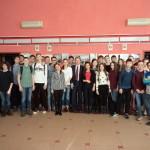 Кольцовские старшеклассники задали вопросы мэру