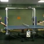 В Кольцово настольный теннис объединил пенсионеров и молодежь