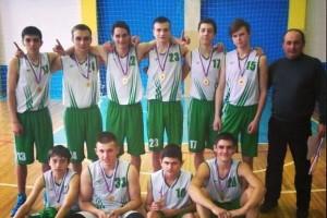 Баскетболисты Кольцово и Новосибирского района на чемпионате НСО.