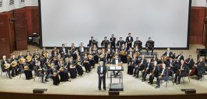 Русский академический оркестр народных инструментов.