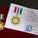 Николая Красникова наградили медалью Законодательного собрания НСО