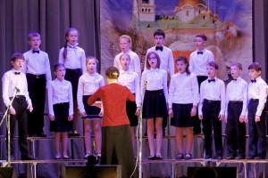 "Младший хор ДШИ на фестивале ""Христос, Весна, Победа!""."