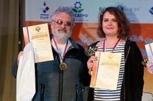 Дарья Родионова и тренер Юрий Марков.