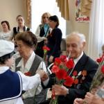 Ветеранов  в Кольцово чествовали дошкольники