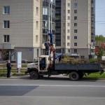 Жителям Кольцово принесли извинения за закрытие пешеходных переходов