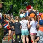 В Кольцово почтили память погибших в Великой Отечественной