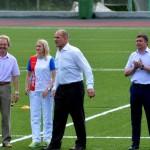 В Кольцово проходит областной этап Летнего фестиваля комплекса ГТО
