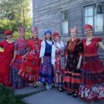 Татьяна Киселева представила народные коллекции костюмов в Каргополе