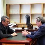 Владимир Городецкий представил новому полпреду развитие научных территорий