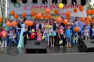 Первый парад рыжих в Кольцово.