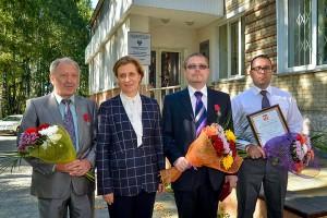 Мамедьяр Азаев, Анна Попова, Евгений Чаусов и Андрей Шиповалов.