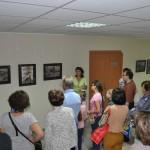 В Кольцово работает выставка художницы Оксаны Понкратьевой