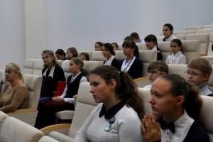 Детский научный форум в Кольцово.