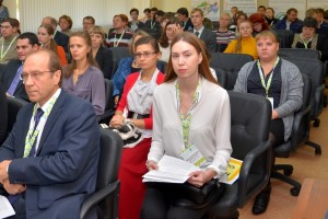 На конференции молодых ученых OpenBio-2016.