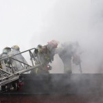 В Кольцово сегодня горел магазин