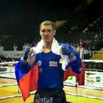 Тайбоксер из Кольцово стал призером чемпионата Европы