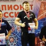 Кольцовцы стали победителями чемпионата России по пауэрлифтингу