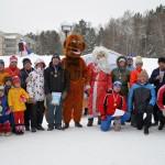 Новый год Кольцово встречало на лыжах