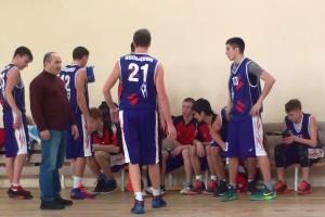 Кольцовские баскетболисты на первенстве Новосибирска.